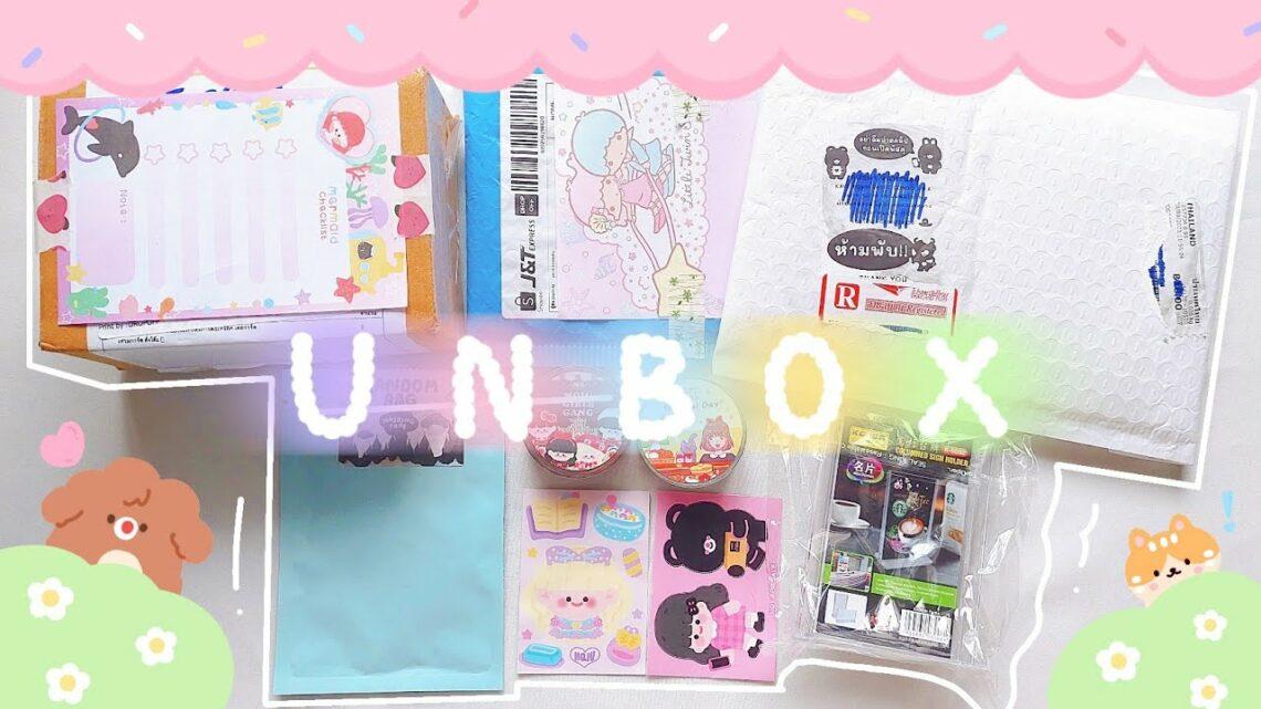 Unbox ep.10 ซองสุ่มเทป ที่ตั้งการ์ด༚ ˎˊ˗